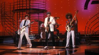 George Thorogood & The Destroyers on American Banstand's Dance Contest in 1981