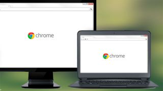 Chrome on desktop and laptop