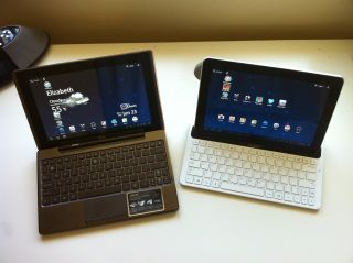 Asus Eee Pad transformer vs samsung galaxy tab 10 1