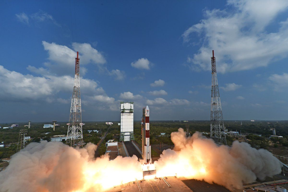 India Launches Record-Breaking 104 Satellites on Single Rocket | Space