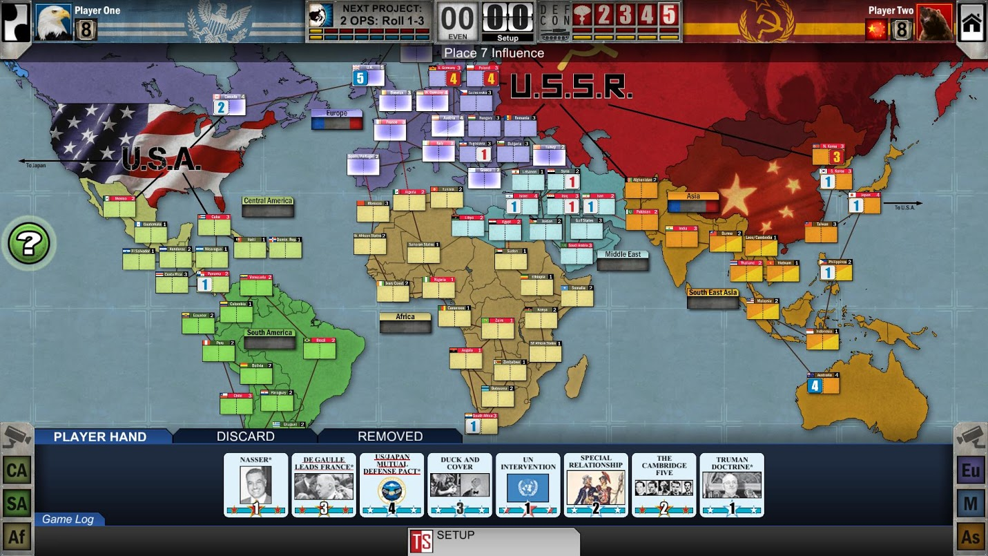 One of the best boardgames ever is on Steam, and it's great
