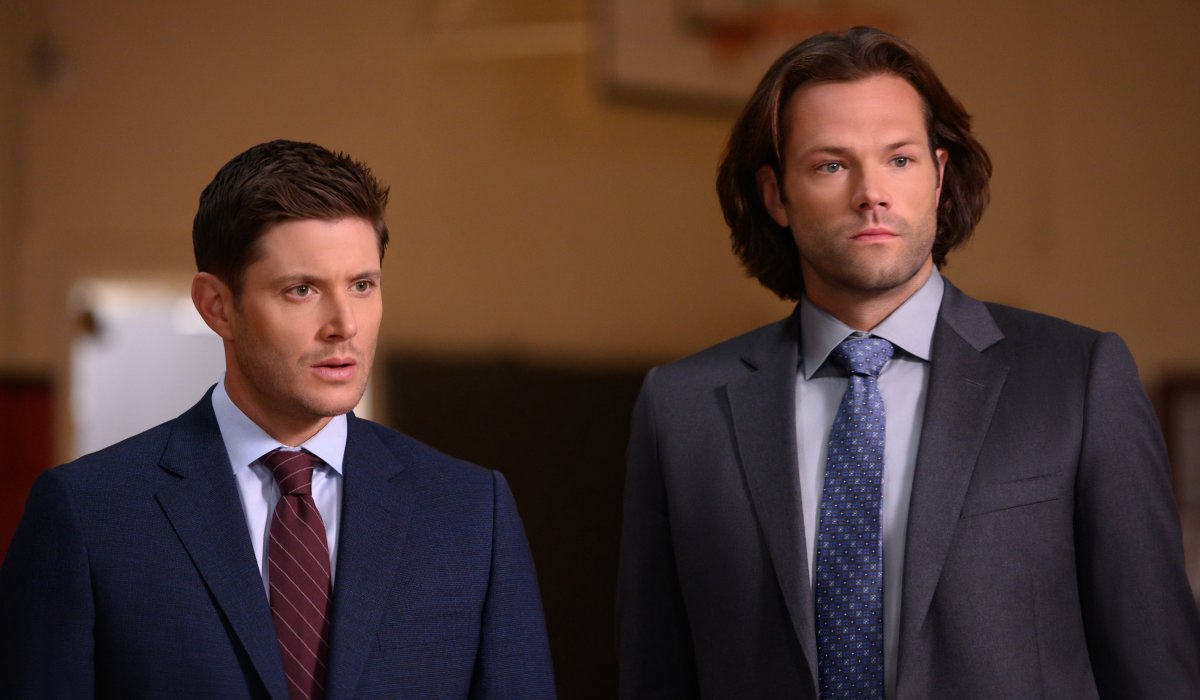 supernatural sam and dean in suits