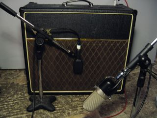 Setting up a ribbon mic away from your amp can deliver a slightly different sound