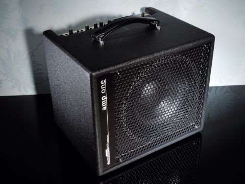The AER Amp One bass combo is compact yet powerful