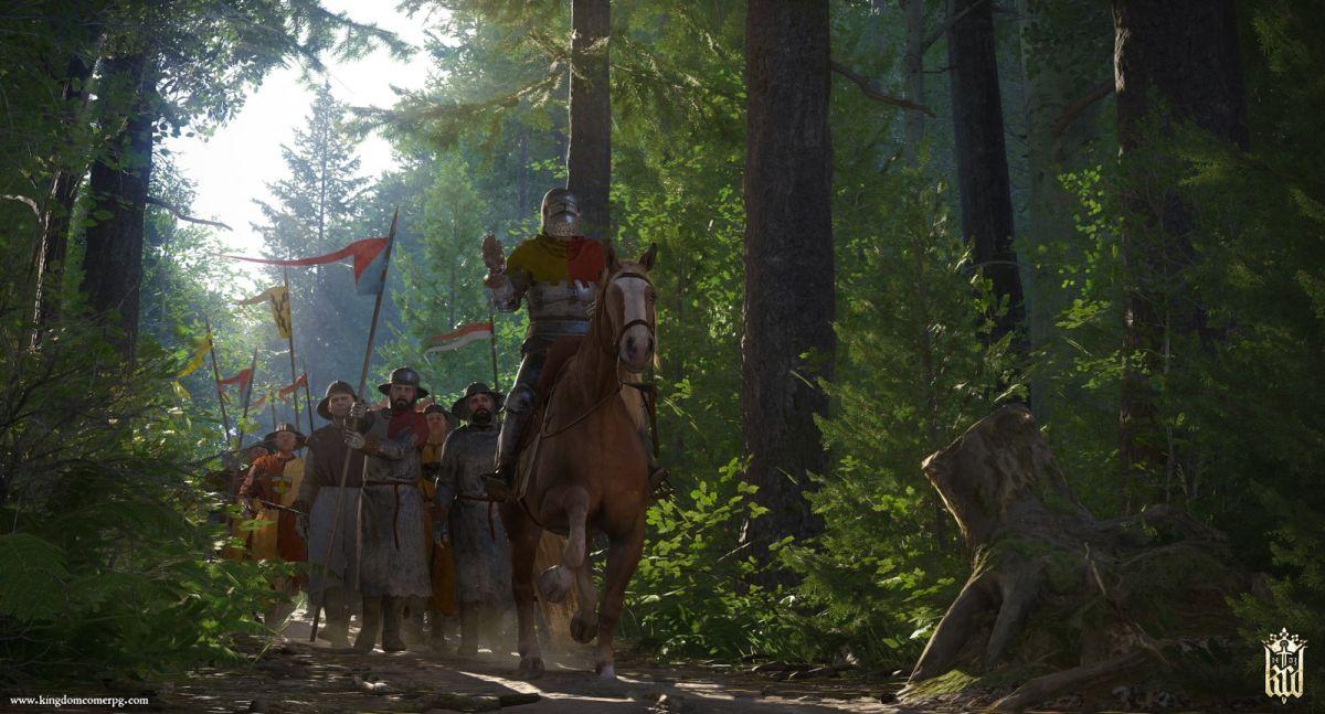 Kingdom Come: Deliverance is a historically accurate Skyrim