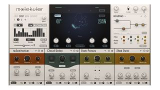 Molekular features four effects slots, each of which can house one of the system's 35 effect modules.