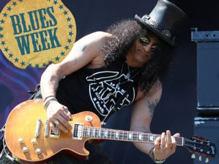 Raised on classic rockers, Slash went back to discover blues masters