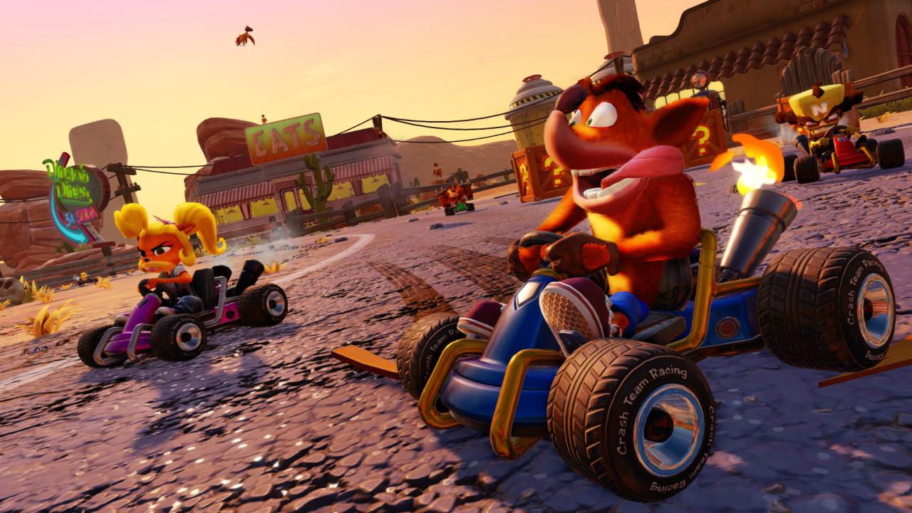 Crash Team Racing: Nitro-Fueled Reseña