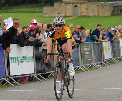 Nicole Cooke wins national championships 2008