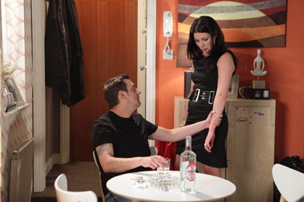Corrie's Alison: Carla would take Simon for Peter!