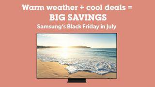 Black Friday in July promotion banner
