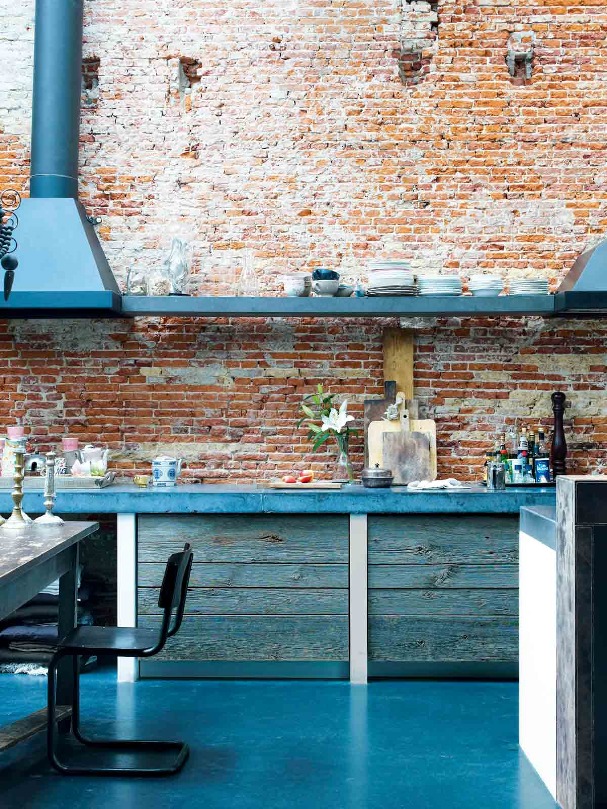 Exposed brick walls - cover