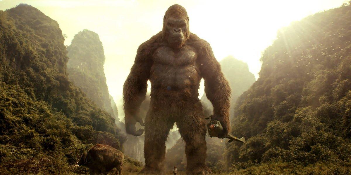 Epic Godzilla Vs. Kong Image Shows How Much King Kong Has Grown