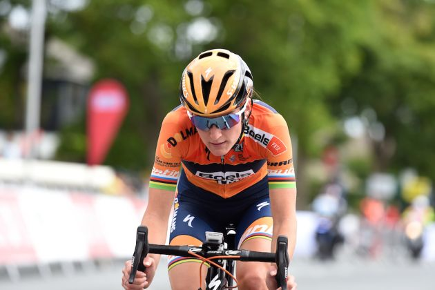 Thumbnail Credit (cyclingweekly.com) (Andy Jones) : Lizzie Deignan at the British Road National Championships 2017 (Andy Jones)