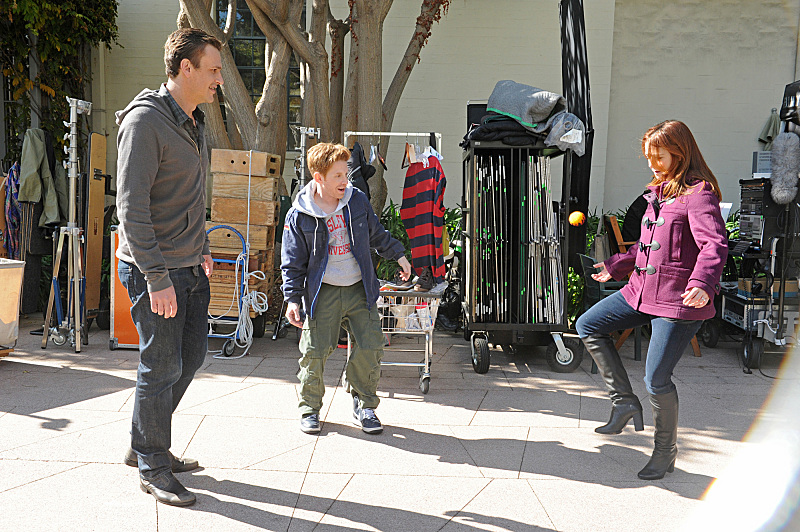 See Buffy's Seth Green And Alyson Hannigan Reunited In How I Met Your Mother Photos #24801
