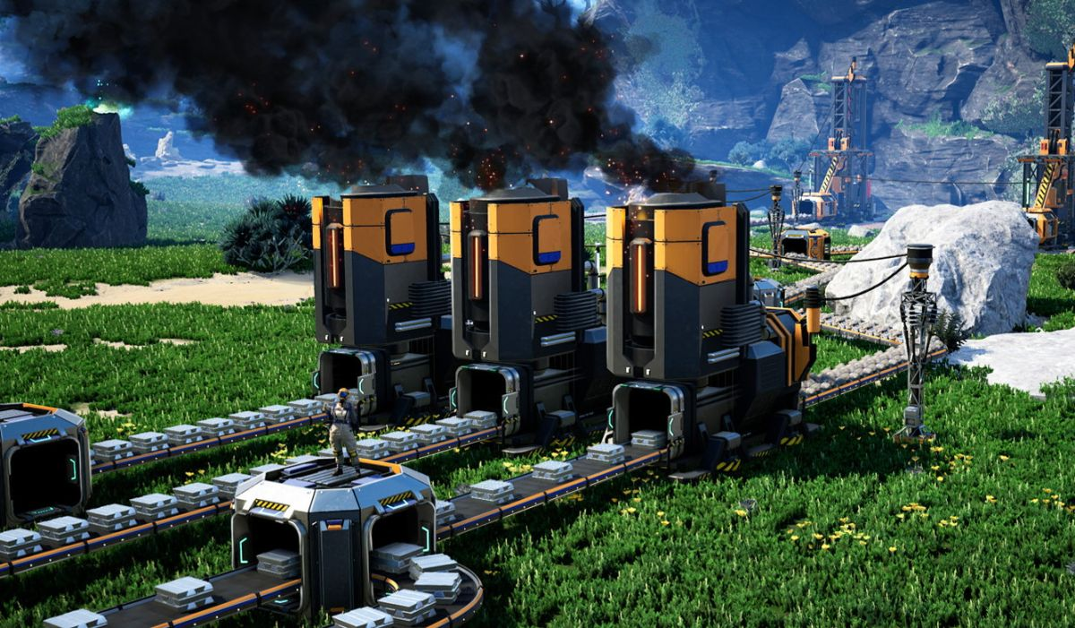 Satisfactory is coming to Steam Early Access on June 8
