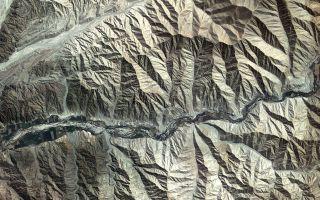 Kompsat-2 Captures Andes Mountains in Peru 1920