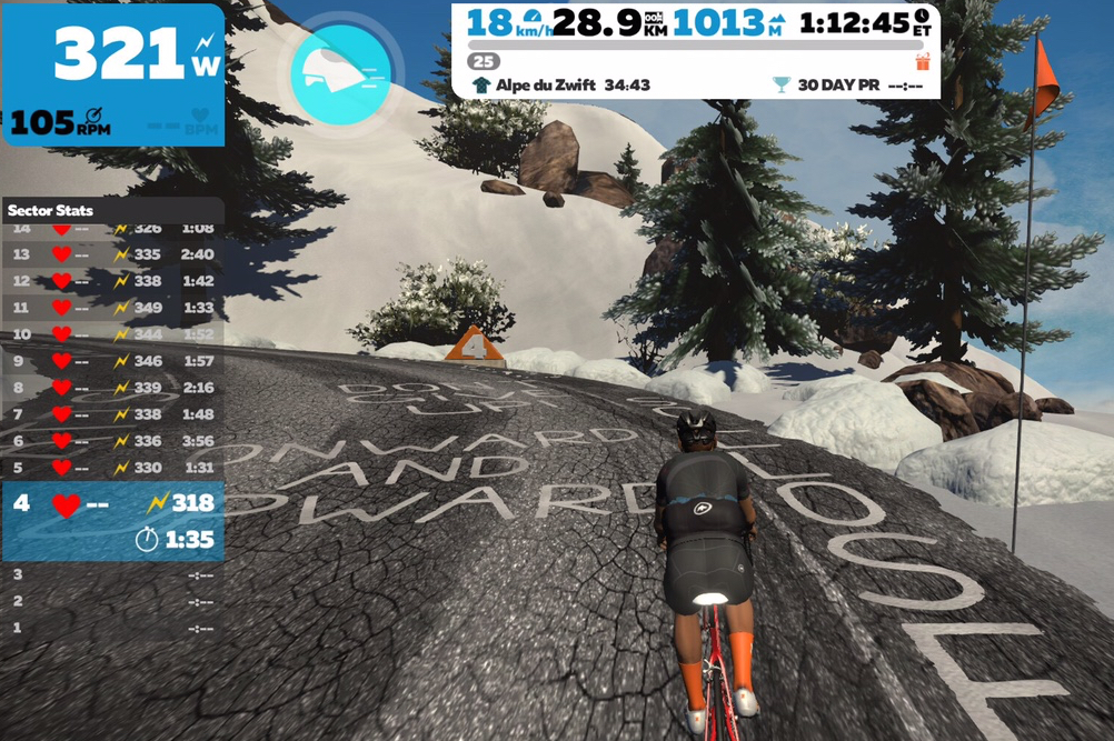 Taking on the Alpe du Zwift: How does it really compare to Alpe d