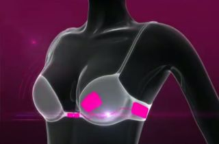 love, bra, technology