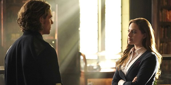 Jedidiah Goodacre as Roman Sienna and Danielle Rose Russell as Hope Mikaelson on Legacies The CW