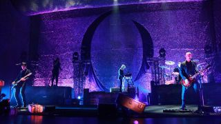A picture of A Perfect Circle live in concert