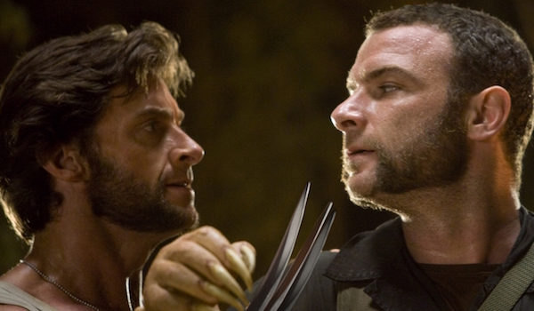Wolverine and Sabretooth claws out X-Men Origins: Wolverine