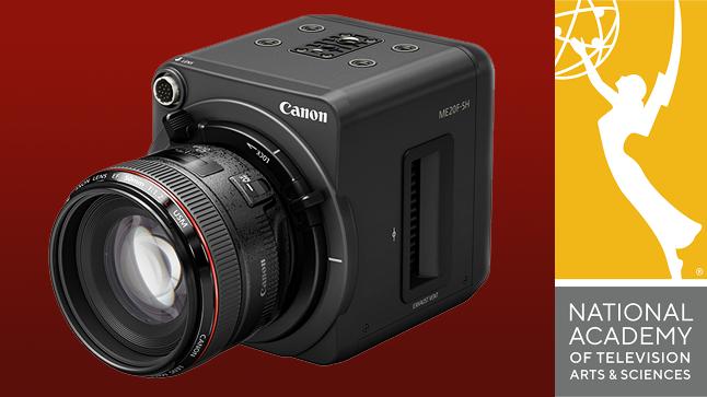 Canon's 4 million ISO (!!!) camera wins an Emmy Award