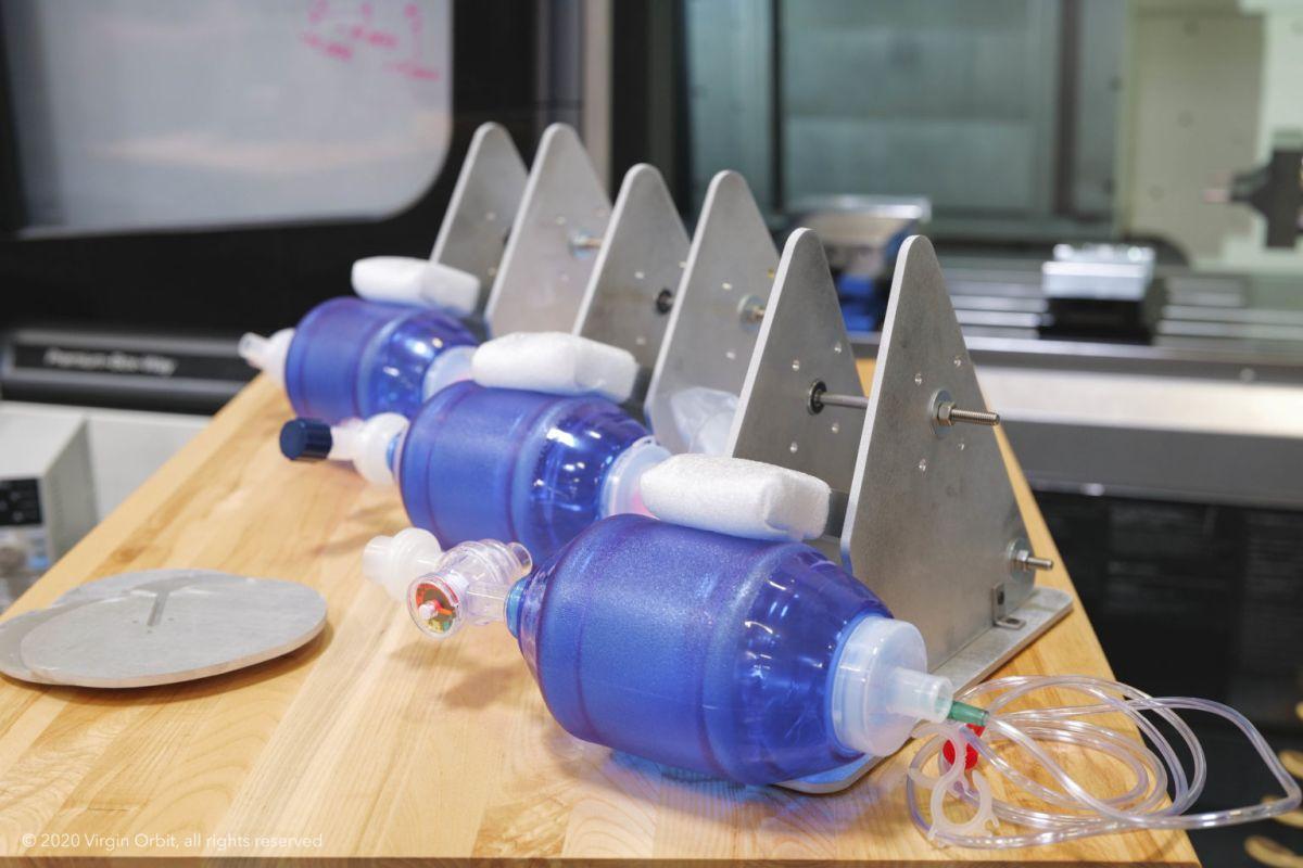Virgin Orbit designs new ventilator as part of Virgin Group's efforts to combat coronavirus