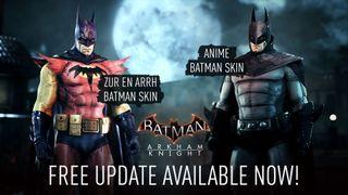 Batman's having a bad suit day.