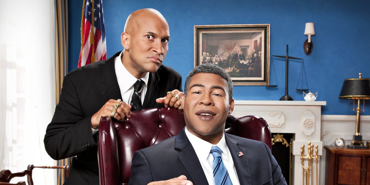 Keegan-Michael Key as Luther and Jordan Peele as Barack Obama on Key & Peele