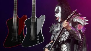 Gene Simmons Gibson G2 bass guitars