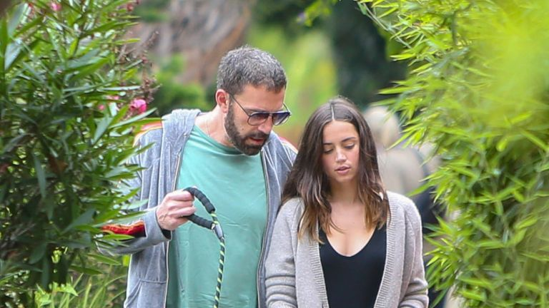 Ben Affleck and Ana de Armas are seen on July 01, 2020 in Los Angeles, California.
