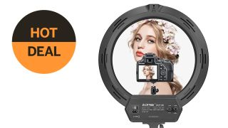 Save $25 on a 16-inch ring light in this early Prime Day deal