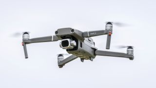 DJI drone setup