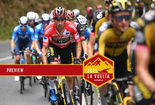 Primoz Roglic has two tough stages before the end of the 2021 Vuelta a Espana