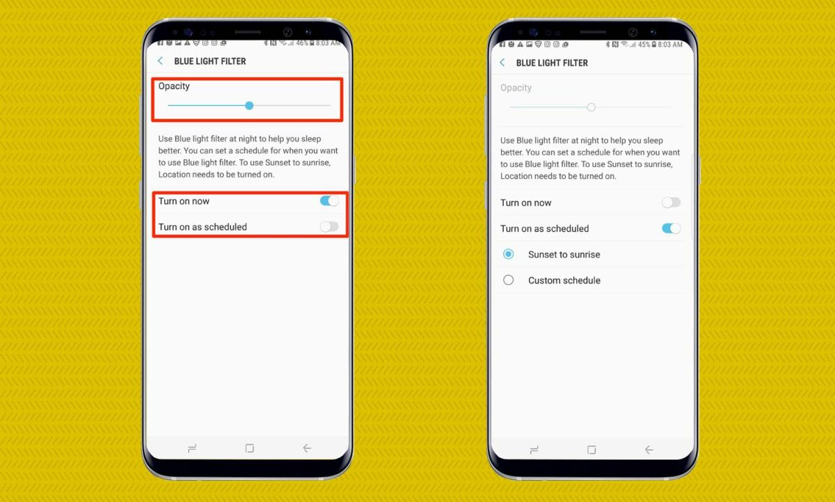 How to Turn On the Galaxy S8's Blue Light Filter - Samsung