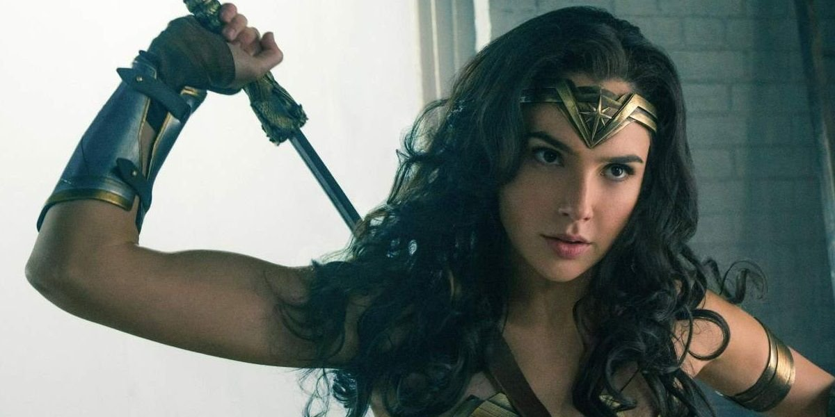 "Gal Gadot wields the ""God Killer"" in Wonder Woman"