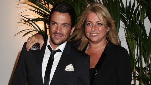 Peter Andre and Claire Powell
