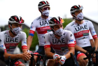 The UAE Team Emirates squad are following strict protocols – both those imposed by the UCI and ASO, and internal team measures – when it comes to the coronavirus at the 2020 Tour de France