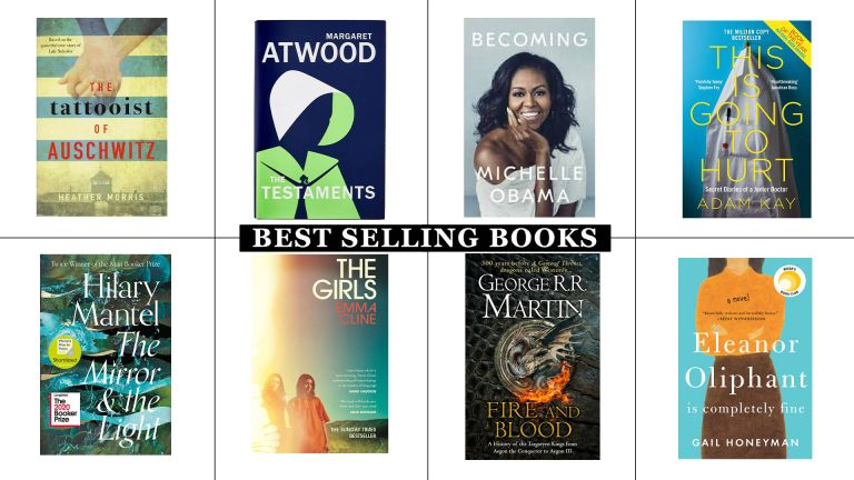 Bestselling books selection