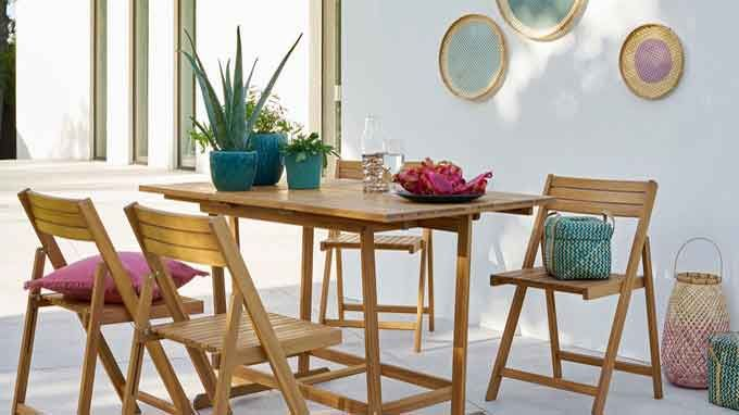 La Redoute Garden 5-Piece Outdoor Dining Set: bank holiday sale item
