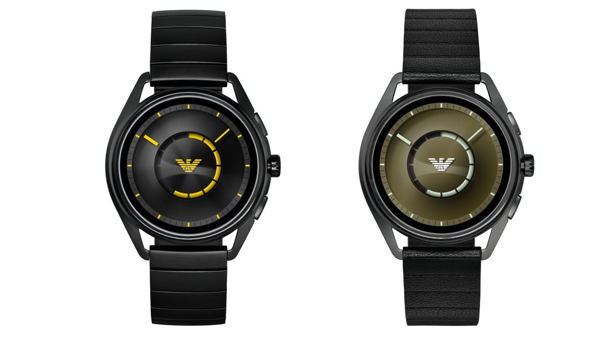 New Emporio Armani and Diesel smartwatches can check your heart rate