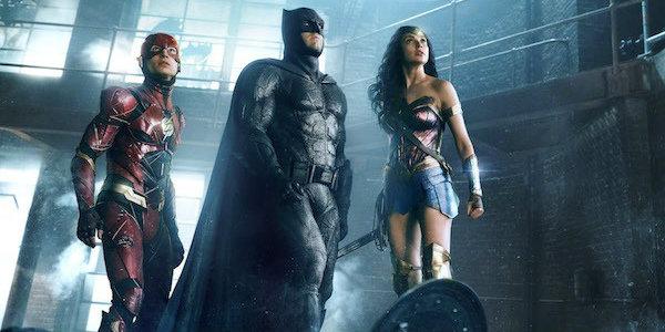 Justice League batman, the flash and wonder woman