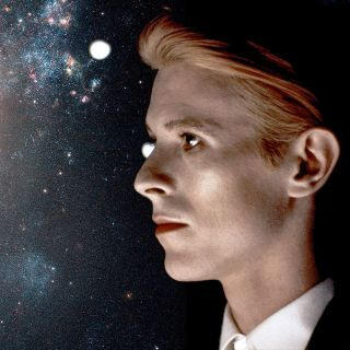 David Bowie with Stars