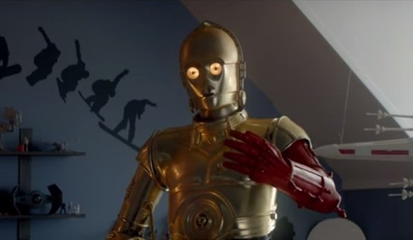 C-3PO's Red Arm In For...C 3po Red Arm