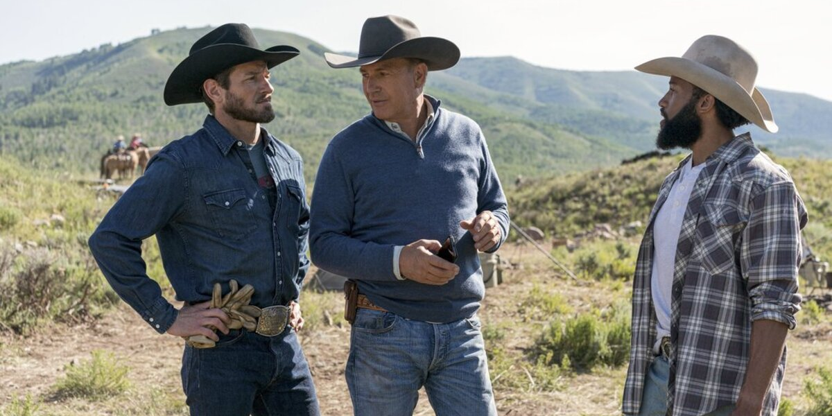 Yellowstone Ryan Ian Bohen John Dutton Kevin Costner Colby Denim Richards Paramount Network