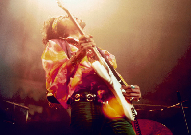 Forgotten Guitar: Rare Footage of Jimi Hendrix's Full Performance at the Albert Hall in 1969