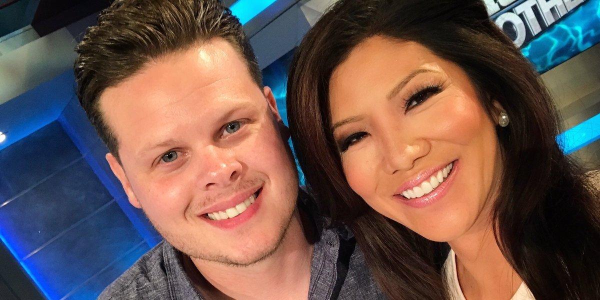 Big Brother 16 winner Derrick Levasseur and Julie Chen