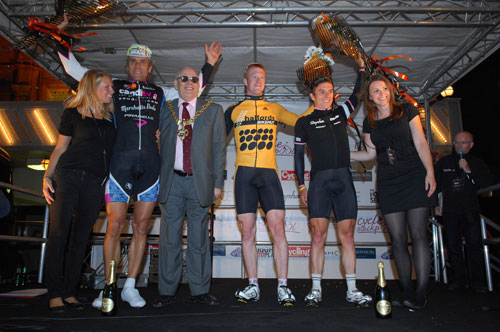 Evans, podium, World Championships 2009, men