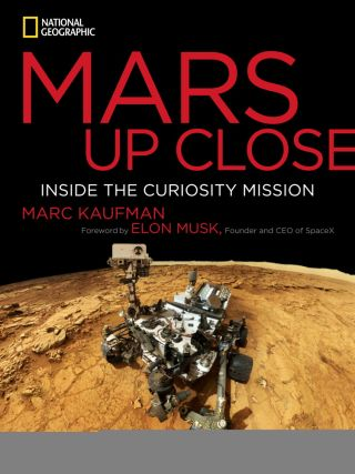 'Mars Up Close' Book Cover